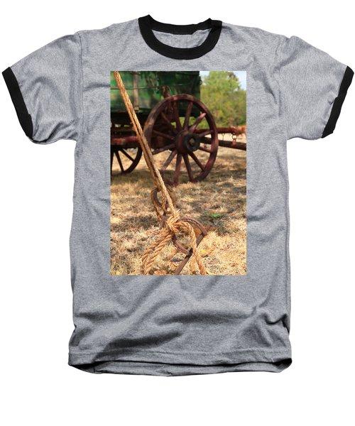 Wagon Stake Baseball T-Shirt