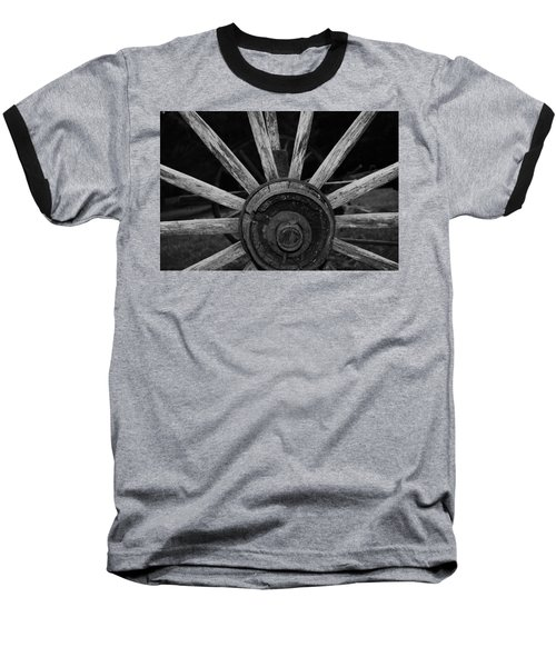 Baseball T-Shirt featuring the photograph Wagon Wheel by Eric Liller