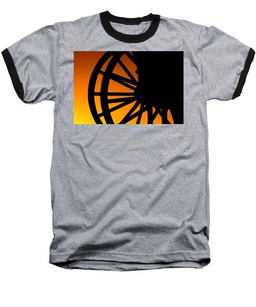 Wagon Wheel Sunset Baseball T-Shirt