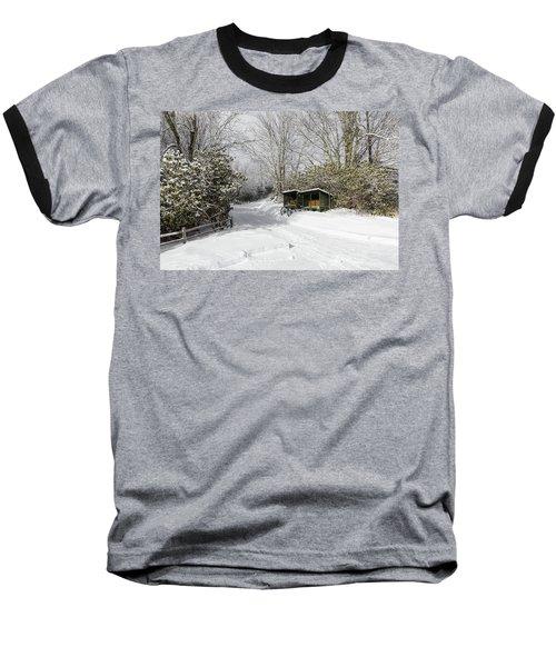 Wagon Wheels And Firewood Baseball T-Shirt