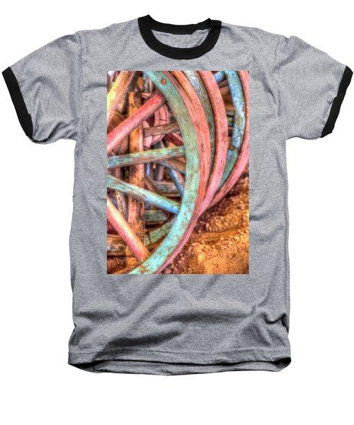 Wagon Wheels Baseball T-Shirt