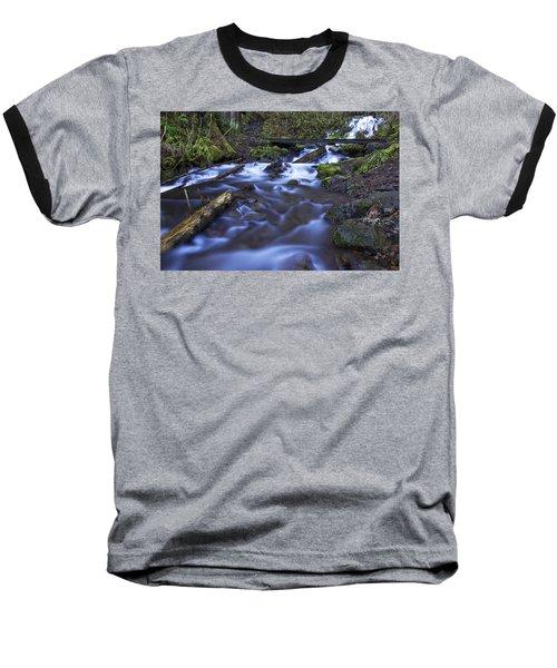 Wahkeena Creek Bridge # 5 Baseball T-Shirt