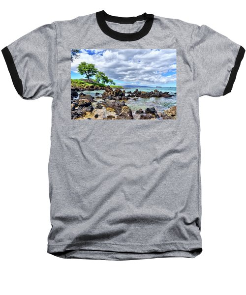 Wailea Beach #2 Baseball T-Shirt