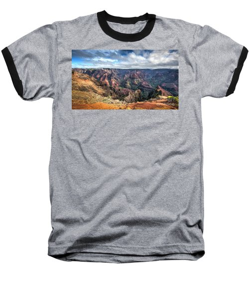Waimea Canyon Kauai Hawaii Baseball T-Shirt