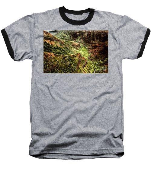 Waimea Canyon Baseball T-Shirt