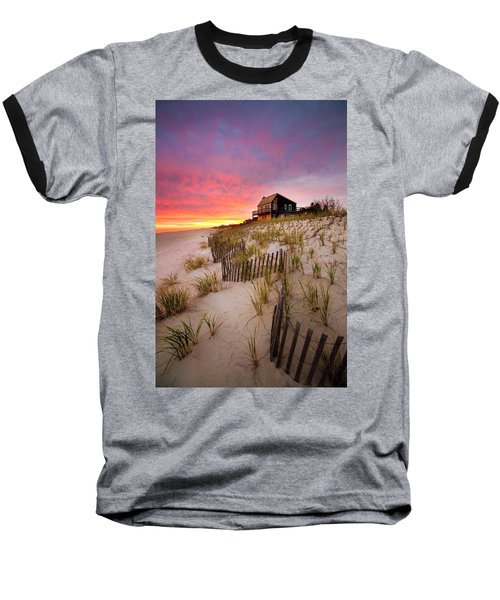 Wainscott Sunset Baseball T-Shirt