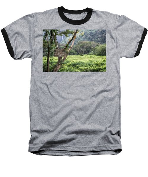 Waipio Valley Road Rules Baseball T-Shirt