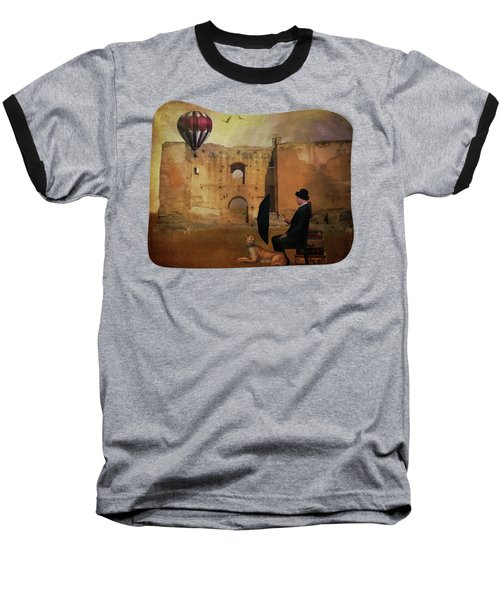 Waiting At The Station Baseball T-Shirt