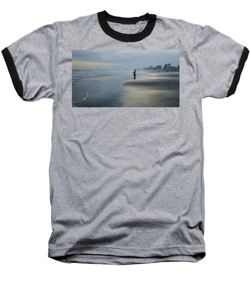 Baseball T-Shirt featuring the photograph Waiting by Cathy Harper