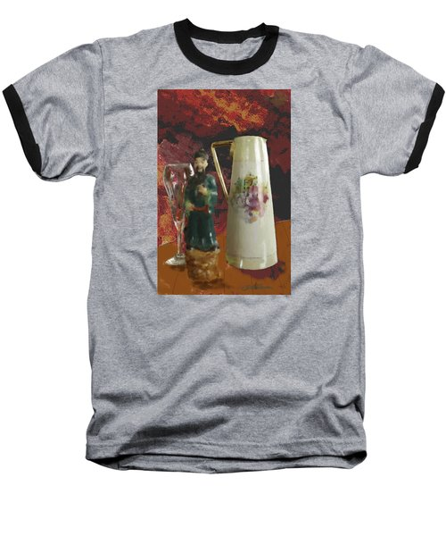 Waiting Baseball T-Shirt by Dale Stillman