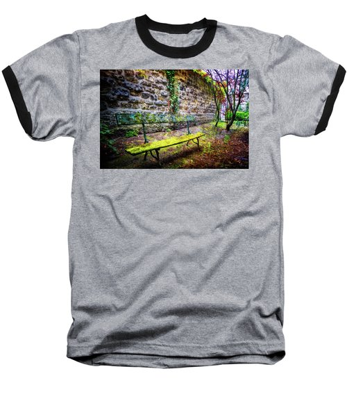 Baseball T-Shirt featuring the photograph Waiting by Debra and Dave Vanderlaan