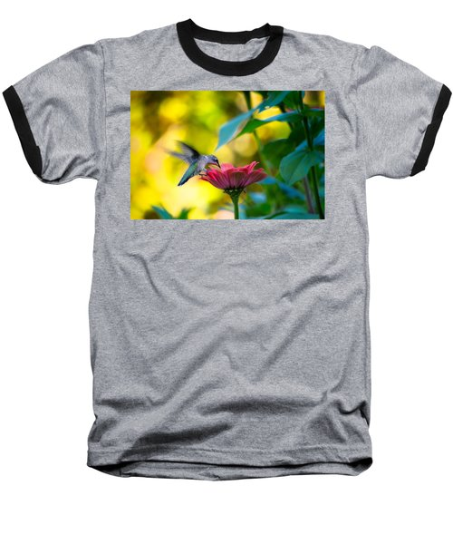 Waiting For Butterflies Baseball T-Shirt