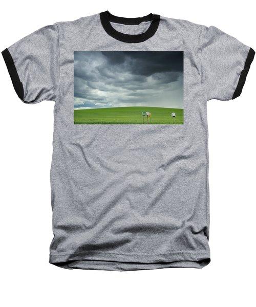 Waiting For Something Baseball T-Shirt