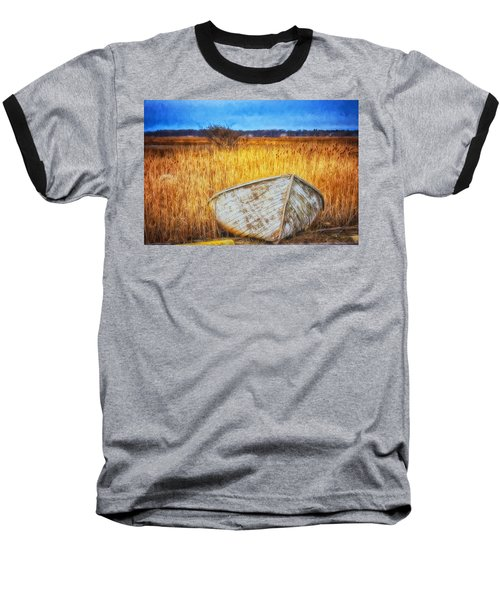 Waiting For Summer Baseball T-Shirt by Tricia Marchlik