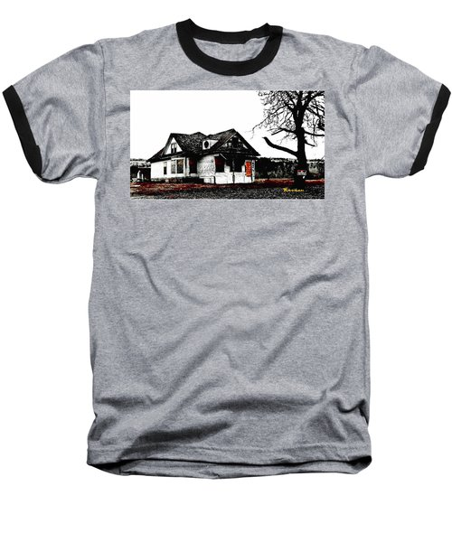 Baseball T-Shirt featuring the photograph Waiting For The Light by Sadie Reneau