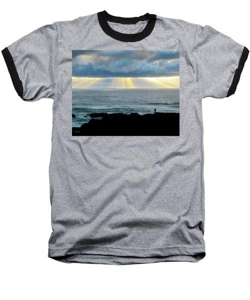 Waiting For The Rain. Baseball T-Shirt