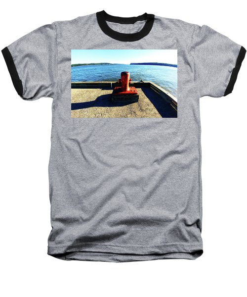 Waiting For The Ship To Come In. Baseball T-Shirt