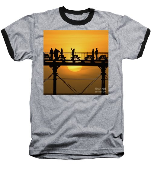 Waiting For The Sun Baseball T-Shirt