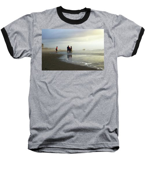 Baseball T-Shirt featuring the photograph Waiting For The Sun by Phil Mancuso