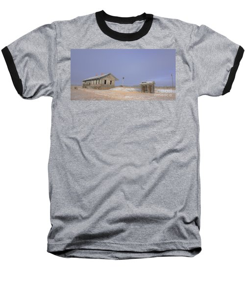 Waiting For The Train To Come Baseball T-Shirt