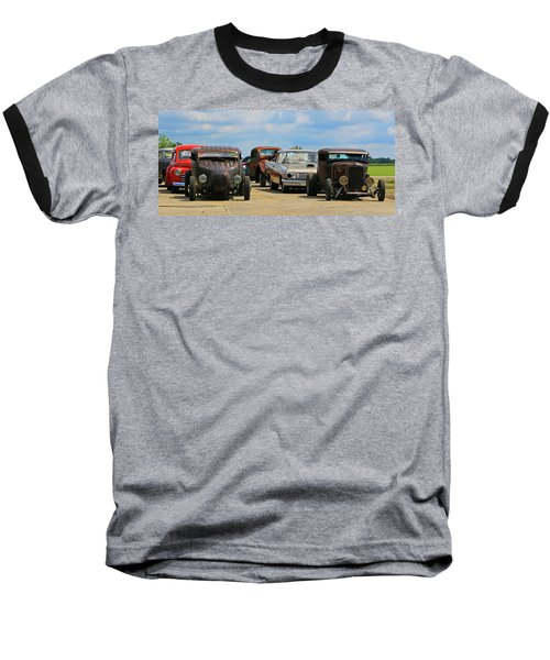 Baseball T-Shirt featuring the photograph Waiting In Line by Christopher McKenzie
