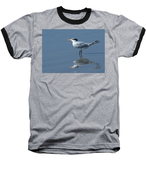 Waiting In The Surf Baseball T-Shirt