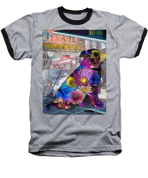 Waiting Baseball T-Shirt by Judi Saunders