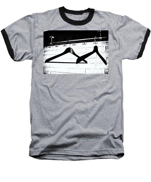 Waiting  Baseball T-Shirt by Karen Stahlros