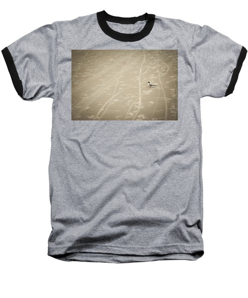 Baseball T-Shirt featuring the photograph Waiting My Turn by Carolyn Marshall