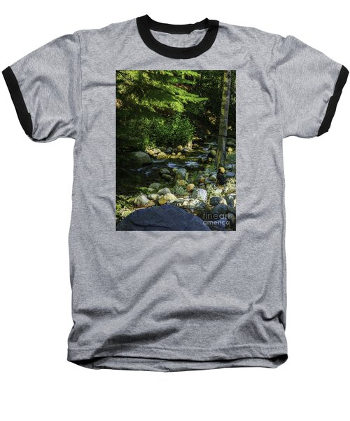 Baseball T-Shirt featuring the photograph Waiting by Nancy Marie Ricketts