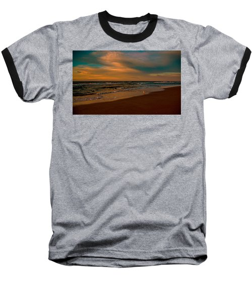 Waiting On The Dawn Baseball T-Shirt by John Harding