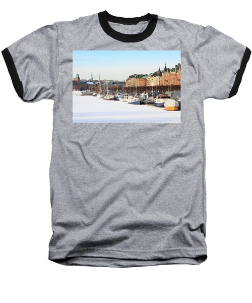 Baseball T-Shirt featuring the photograph Waiting Out Winter by David Chandler