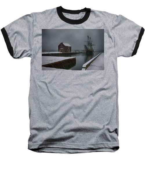 Waiting Quietly Baseball T-Shirt