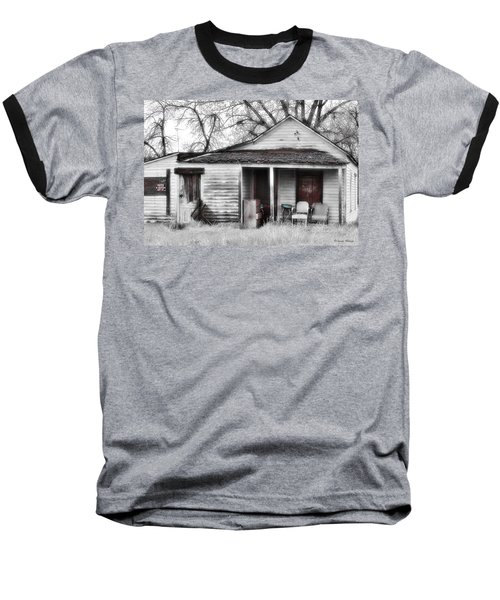 Waiting Baseball T-Shirt by Susan Kinney