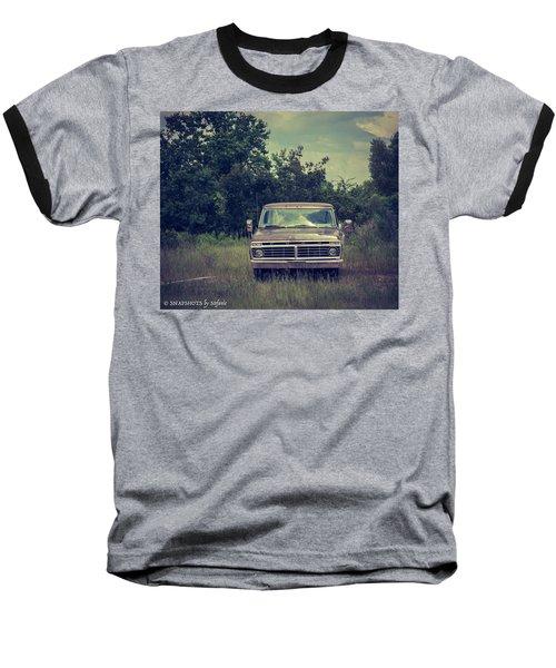 Waiting To Die Baseball T-Shirt by Stefanie Silva