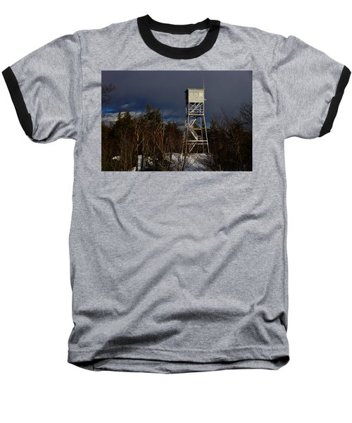 Waiting Tower Baseball T-Shirt