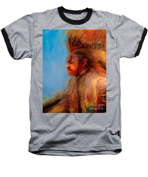 Wakantanka Maka Kin Kaye Baseball T-Shirt
