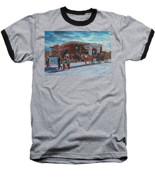 Wake Forest Christmas Parade Baseball T-Shirt