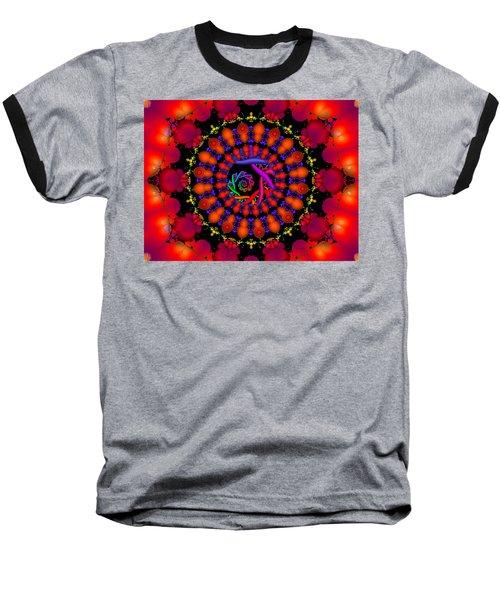 Baseball T-Shirt featuring the digital art Wake by Robert Orinski