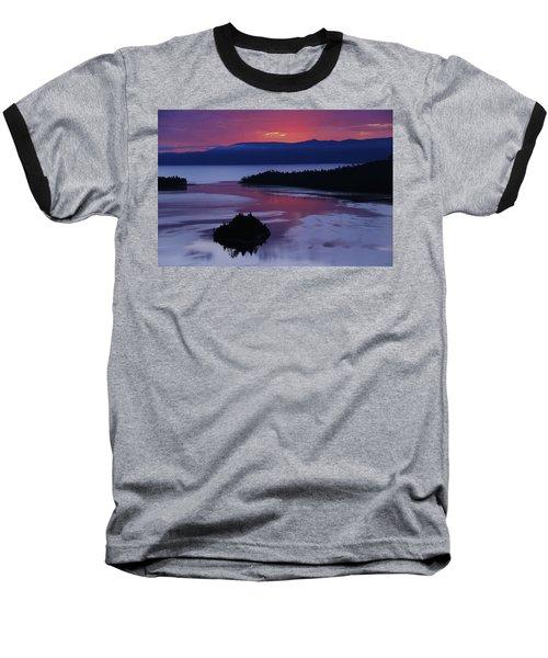 Wake Up In Lake Tahoe  Baseball T-Shirt