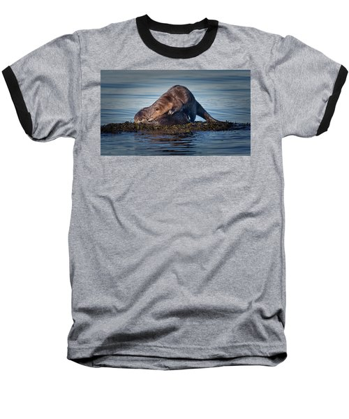 Baseball T-Shirt featuring the photograph Wake Up by Randy Hall