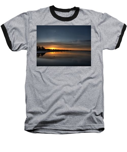 Waking To A Cold Sunrise Baseball T-Shirt