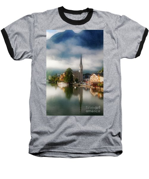 Waking Up In Hallstatt Baseball T-Shirt