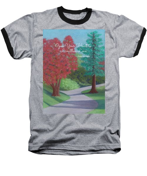 Waking Up - With Quote Baseball T-Shirt
