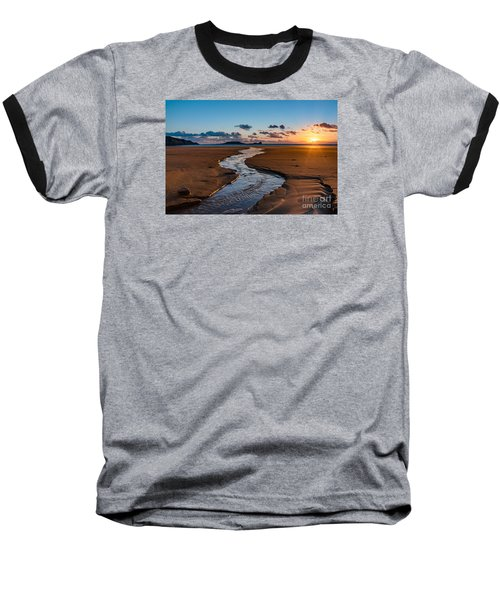Wales Gower Coast Baseball T-Shirt