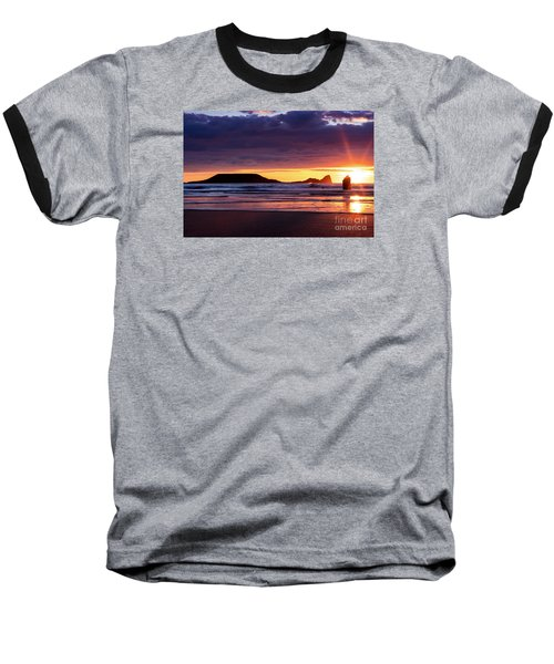 Wales Gower Coast Helvetia Baseball T-Shirt