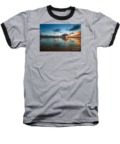 Wales Gower Coast Summer  Baseball T-Shirt