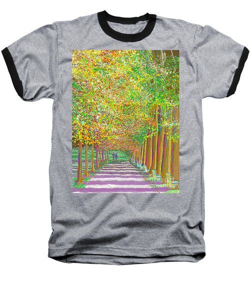 Walk In Park Cathedral Baseball T-Shirt