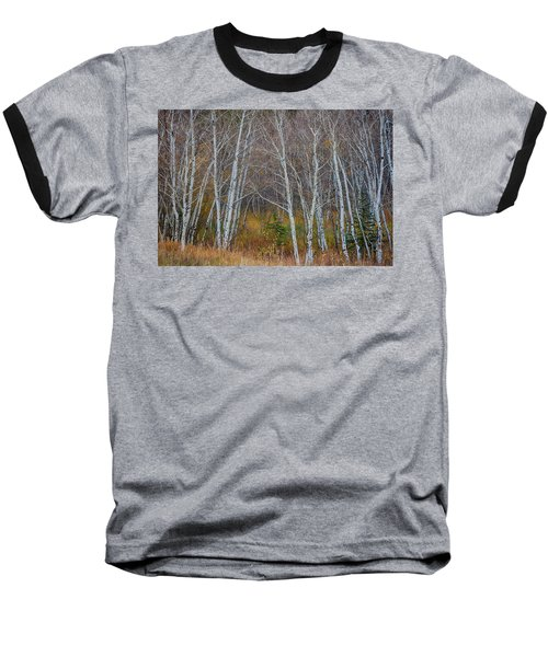 Baseball T-Shirt featuring the photograph Walk In The Woods by James BO Insogna