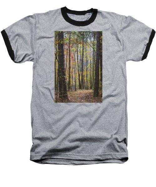 Walk In The Woods Baseball T-Shirt